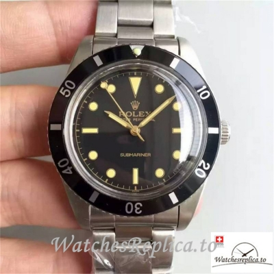 Swiss Rolex Submariner Date Replica 6538 Black Aluminium Bezel 40MM