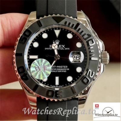 Swiss Rolex Yacht Master Replica M226659-0002 Black Bezel 42MM