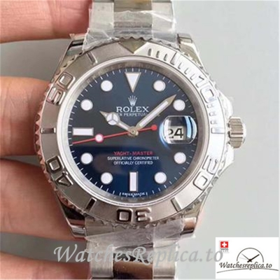 Swiss Rolex Yacht Master Replica 116622 001 Silver Strap 40MM