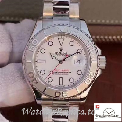 Swiss Rolex Yacht Master Replica 116622 002 Silver Strap 40MM