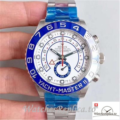Swiss Rolex Yacht Master II Replica 116680 Number Markers 44MM