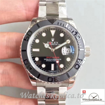Swiss Rolex Yacht-Master Replica 116622 005 Stainless Steel Strap 40MM