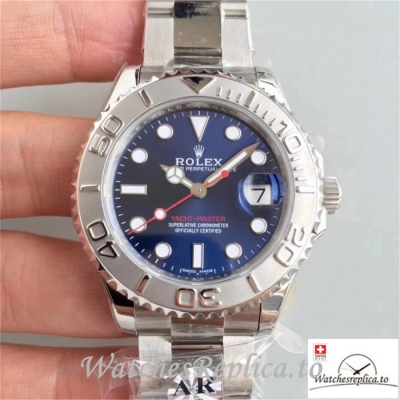 Swiss Rolex Yacht-Master Replica 268622 001 Stainless Steel Strap 37MM
