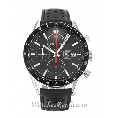 Tag Heuer Carrera Black Dial CV2014.FC6233   41 MM
