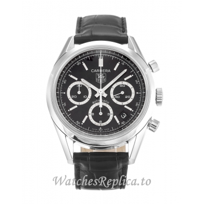 Tag Heuer Carrera Black Dial CV2113.FC6180 37MM