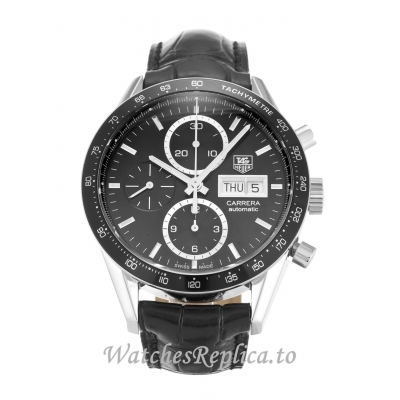 Tag Heuer Carrera Black Dial CV201AG.FC6266 41MM