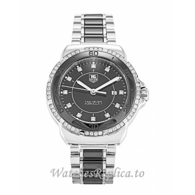 Tag Heuer Formula 1 Black Diamond Dial Sparkling WAH1312.BA0867 32 MM