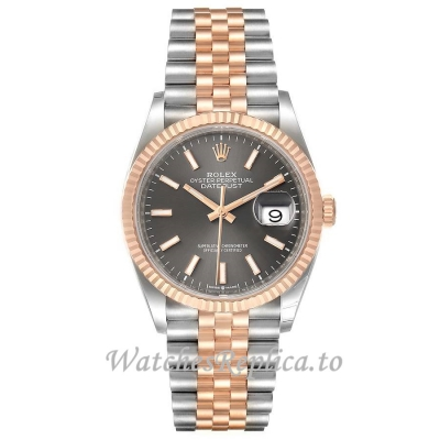 Replica Rolex Datejust Rhodium Dial 126231 36MM