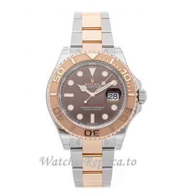 Rolex Replica Yacht-Master Brown 40mm 116621
