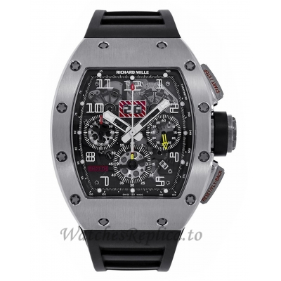 Richard Mille Replica Felipe Massa Titanium Flyback Chronograph 50MM  M01107029