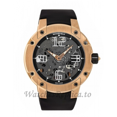 Richard Mille RM 033 Rose Gold Automatic Extra Flat 46MM Watch RM033 36223