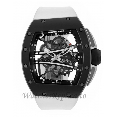 Richard Mille RM61-01 Yohan Blake All Black Ceramic Mens 50MM Watch RM61-01 98113