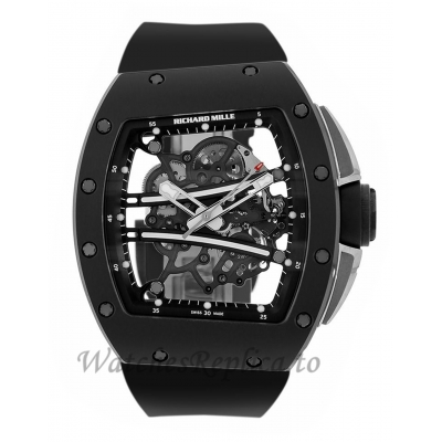 Richard Mille Replica RM61-01 Yohan Blake All Black Edition TZP Ceramic 50MM Watch RM61-01 78996