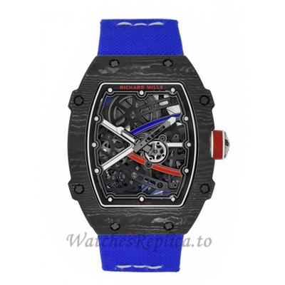 Richard Mille Replica RM67-02 Sebastien Ogier Carbon TPT Automatic 47MM Watch RM67-02 56123