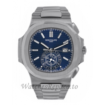 Patek Philippe Replica Nautilus 40th Anniversary White Gold 49MM Watch 59761G001