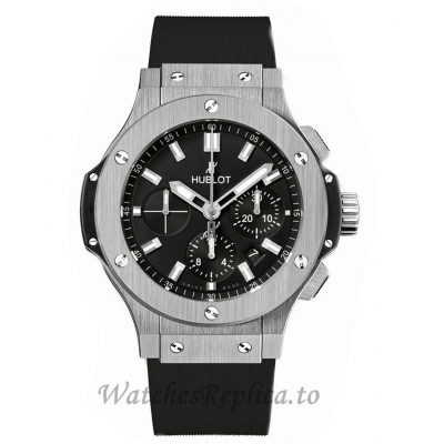 Hublot Replica Big Bang Stainless-Steel Black Chronograph 44MM 301.SX.1170.RX